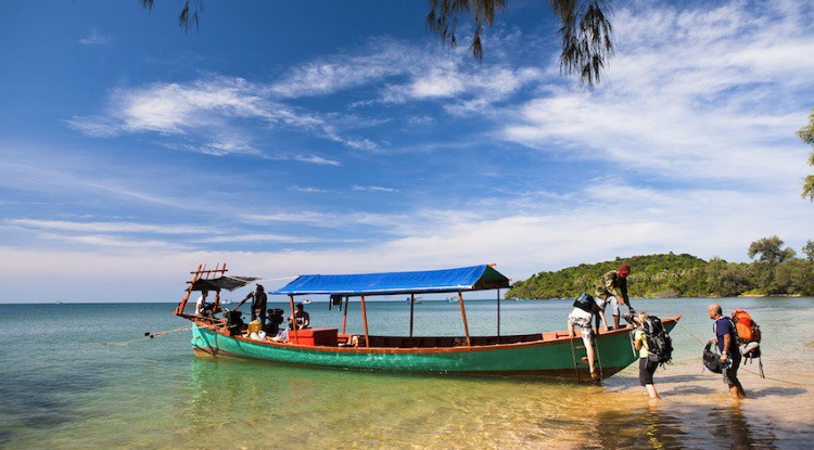 Khmer Visboot by Koh Rong
