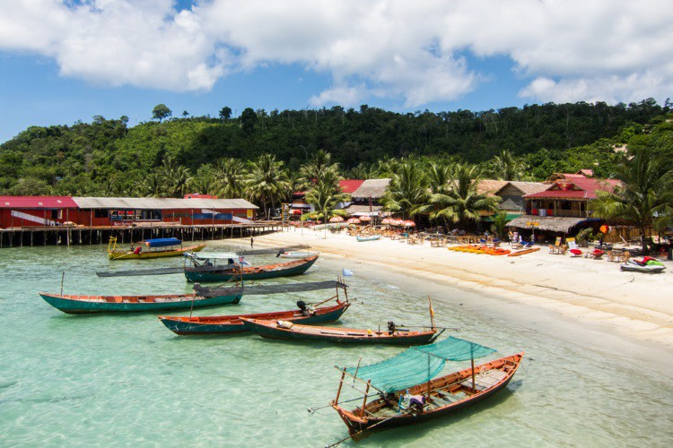 Koh Touch on Koh Rong