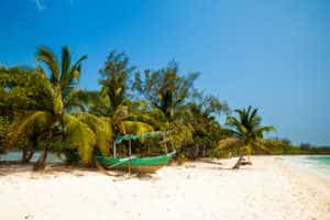 A Beach on Koh Rong Island