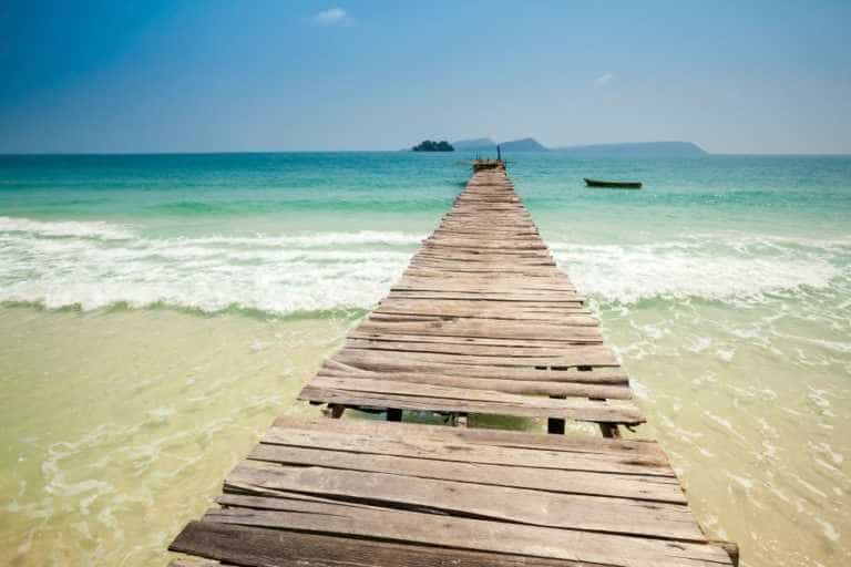 A Pier on Koh Rong