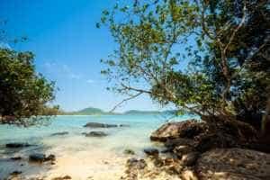 Rocky Beach on Koh Rong Samloem