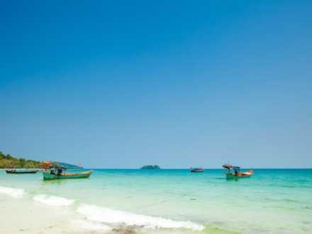Fishing Boats on Koh Rong Samloem