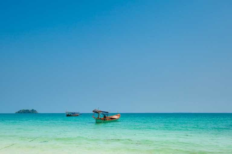 Fishing Boats on Koh Rong Samloem