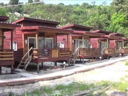 smile bungalows on koh rong island in Cambodia