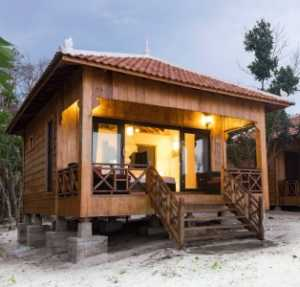 Sol Beach Resort on Koh Rong Samloem Island in Cambodia