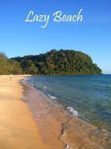 Lazy Beach on Koh Rong Samloem Island in Cambodia small