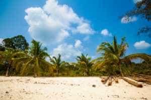 A Beach on Koh Rong Samloem