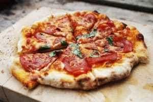 Pizza at Moonlight Resort