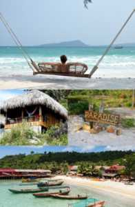 Paradise Bungalows on Koh Rong Island in Cambodia small