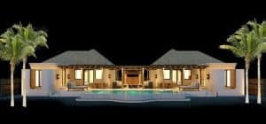 Two Villas at Royal Sands - Night Time