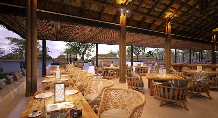 Restoran di The Royal Sands