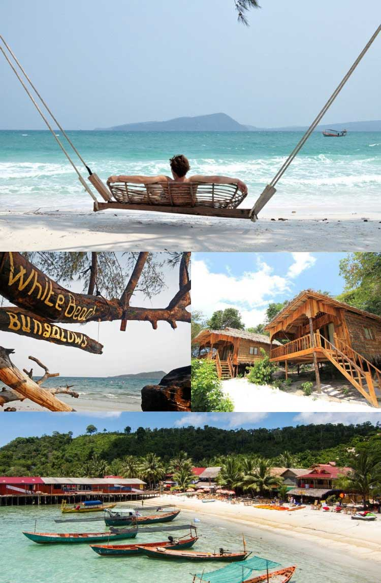 Wit-Beach-Bungalows-on-Koh-Rong-eiland-in-Kambodja