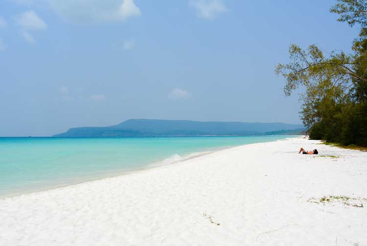 Long Set (4K) Strand auf Koh Rong
