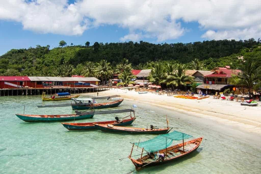 Koh Touch op Koh Rong Island in Cambodja