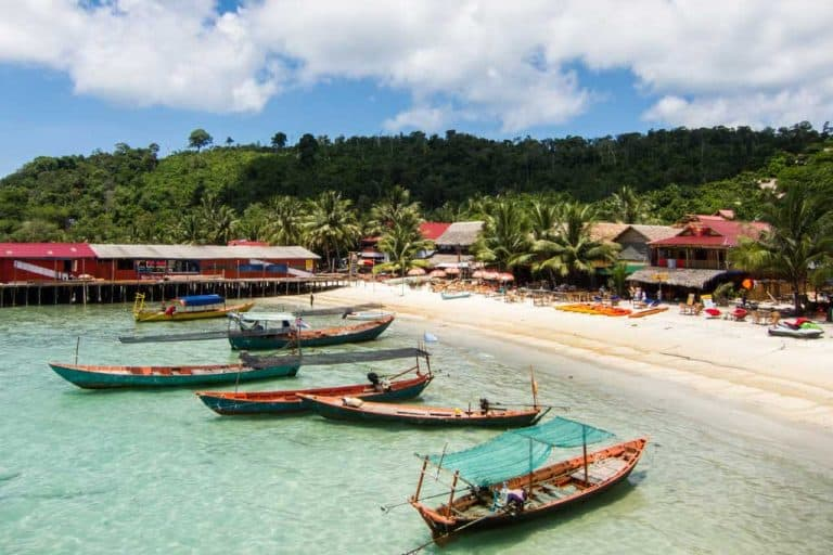 Koh Touch on Koh Rong Island in Cambodia