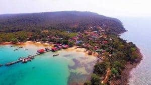 M'Pai Bay on Koh Rong Samloem Island in Cambodia