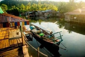 Prek Svay on Koh Rong Island in Cambodia