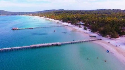 Saracen Bay on Koh Rong Samloem