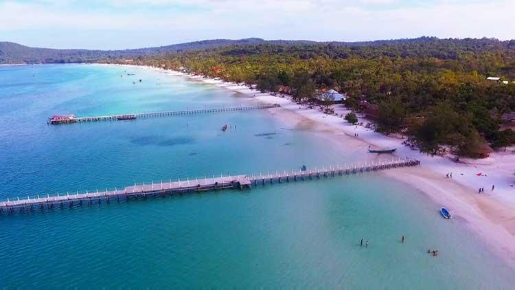 Saracen Bay sur Koh Rong Samloem