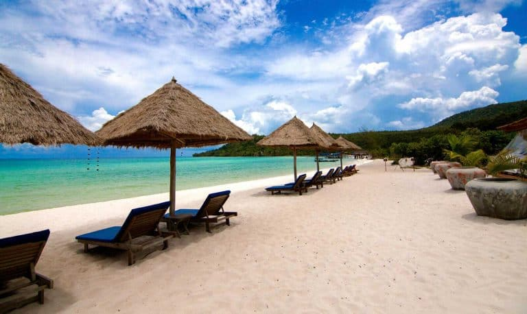 Sok San Beach Resort on Koh Rong Island in Cambodia