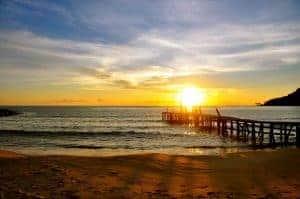 Sunset on Lazy Beach, Koh Rong Samloem
