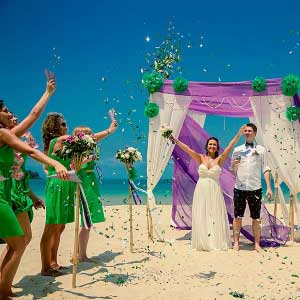 Wedding at Sol Beach Resort