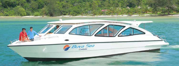 Buva Sea Ferry a Koh Rong