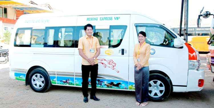 Mekong Express VIP Bus From Sihanoukville to Siem Reap