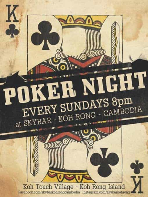 Poker-Night-on-Koh-Rong-Island