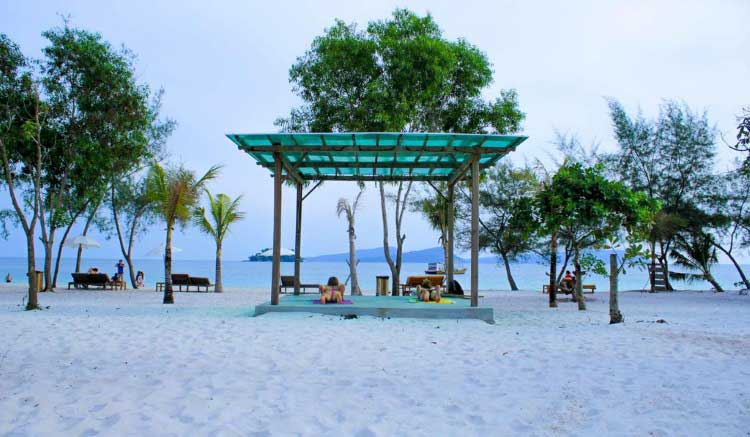 Long Set Resort en la isla de Koh Rong