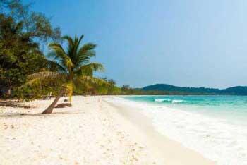 Пляж на Да Ронге
